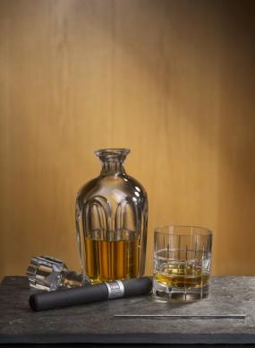 whiskeypinne i miljö
